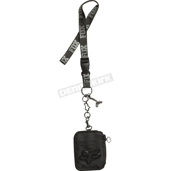Fox Black Encountered Lanyard - 03089-001