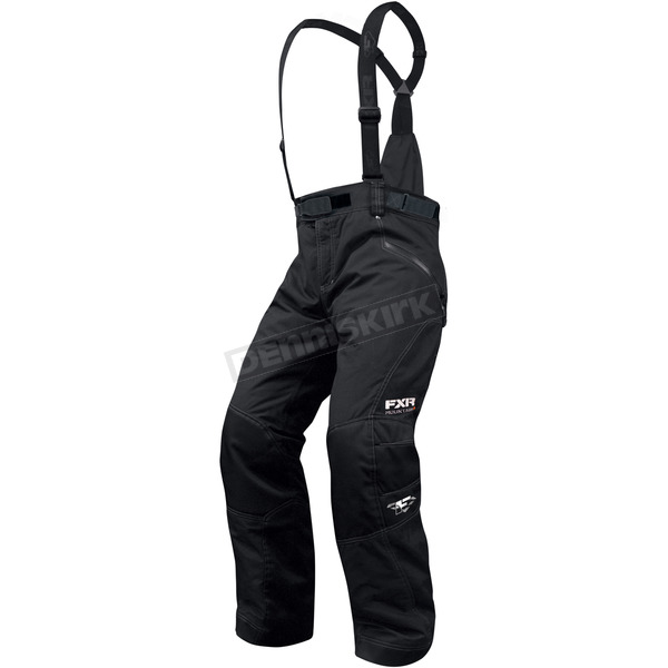 FXR Racing Black Elevation Waist Pants - 13180