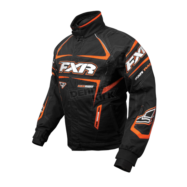 FXR Racing Black/Orange Backshift Pro Jacket - 13110