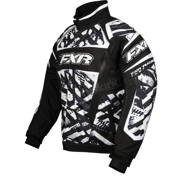 FXR Racing White Strike Helix Jacket - 13115