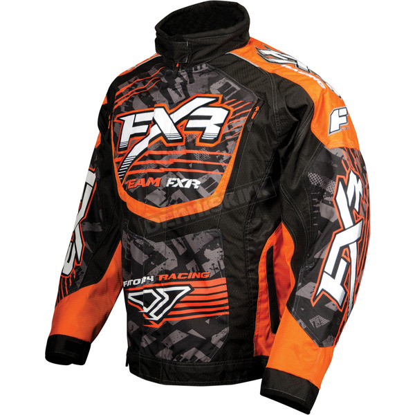 FXR Racing Orange/Black Strike Cold Cross L.E. Race Jacket - 13120