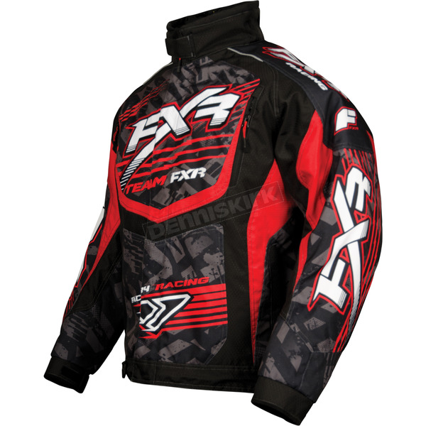 FXR Racing Red/Black Strike Cold Cross Jacket - 13125