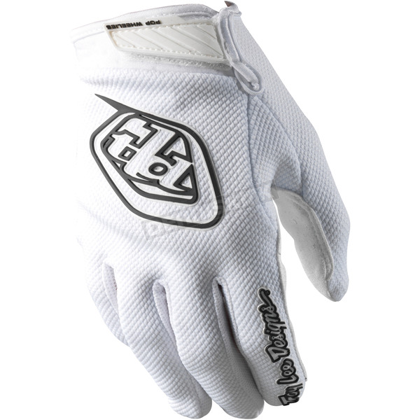 Troy Lee Designs White Air Gloves - 0623-0109