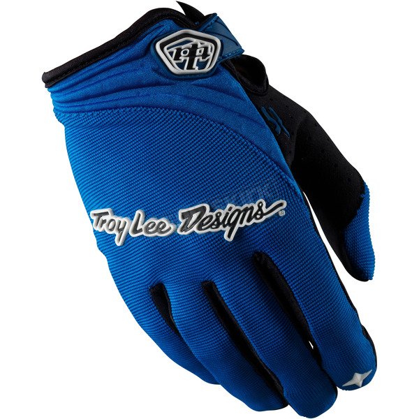 Troy Lee Designs Blue XC Gloves - 0663-0310