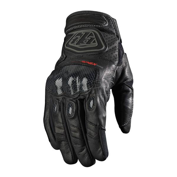 Troy Lee Designs Black Apex Pro Gloves - 0673-0210