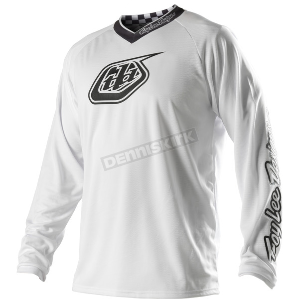 Troy Lee Designs White-Out Grand Prix Jersey - 1723-0109