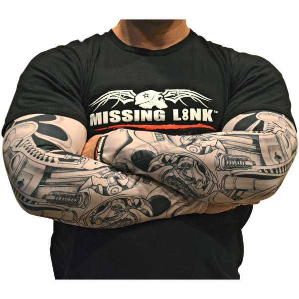 Missing Link Biomechanical ME Tattoo Sleeves - APBMX