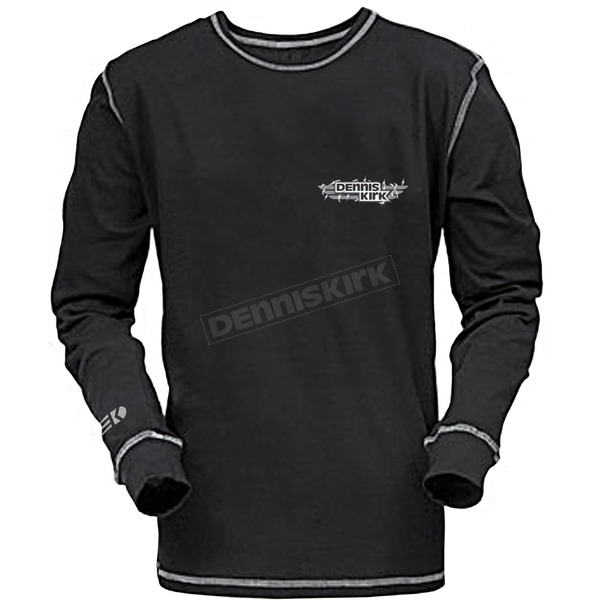 Dennis Kirk Inc. Barbwire Thermal Long Sleeve Shirt - THERMAL