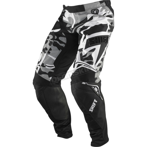 Shift Black/White Camo Strike Pants - 03095-027-30