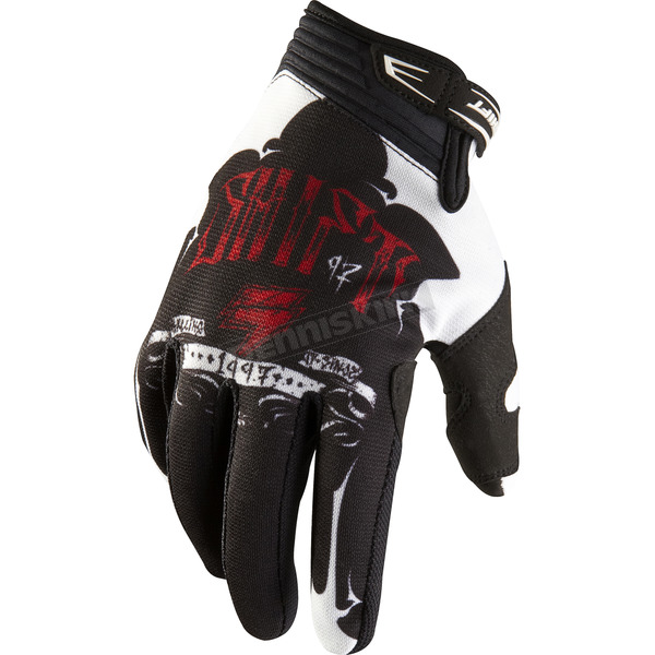 Shift Black/Red Recon Gloves - 03101