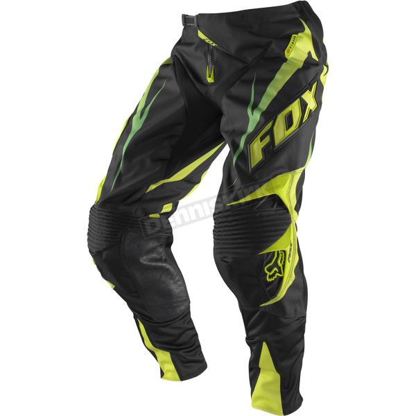Fox Black/Green 360 Vibron Pants - 01036-151-28