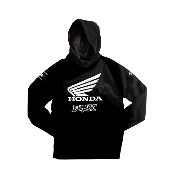 Fox Black Honda Hoody - 06291-001