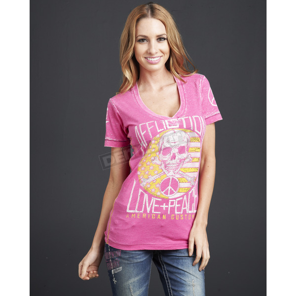 Affliction Womens Constitution T-shirt - AW6509-L