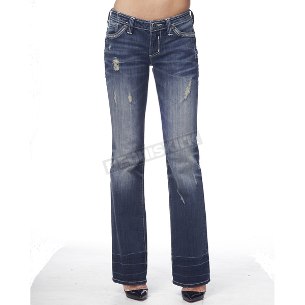 Affliction Womens Jade Cathedral Fleur Jeans  - 111BC005-24