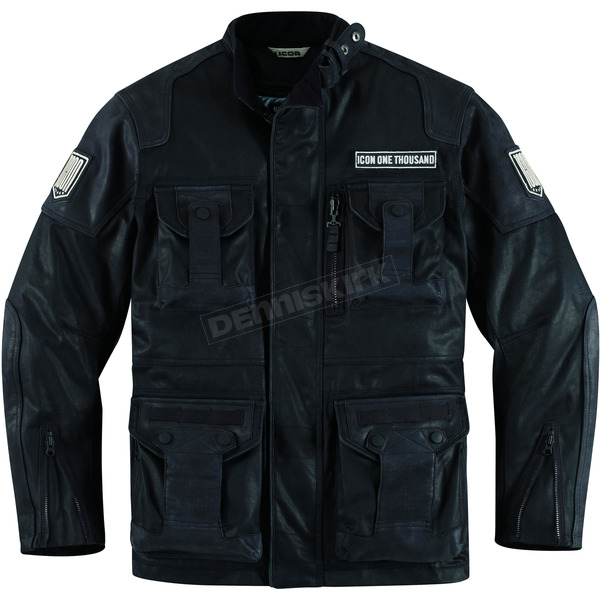 Icon Resin Black Beltway Jacket - 2820-2515