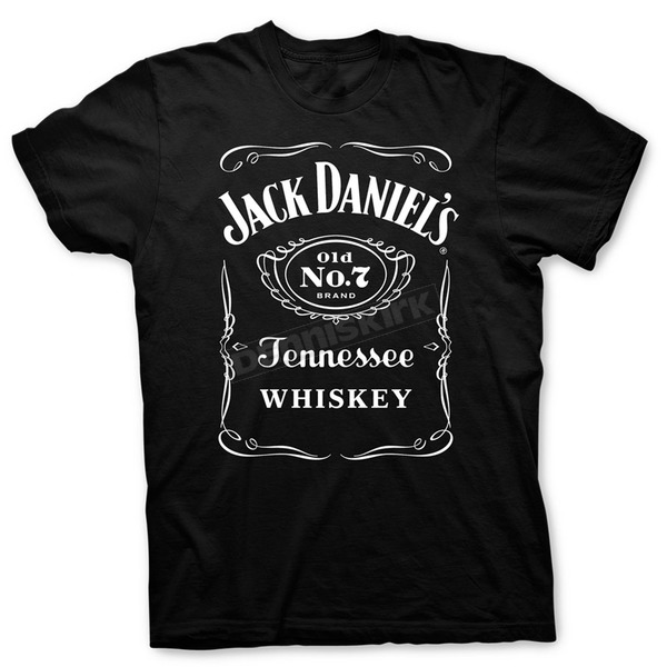 Jack Daniels Label T-Shirt - 33261400JD-89-L