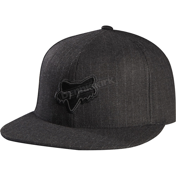 Fox Black Gomez All Pro Snapback Hat - 05484-001-OS
