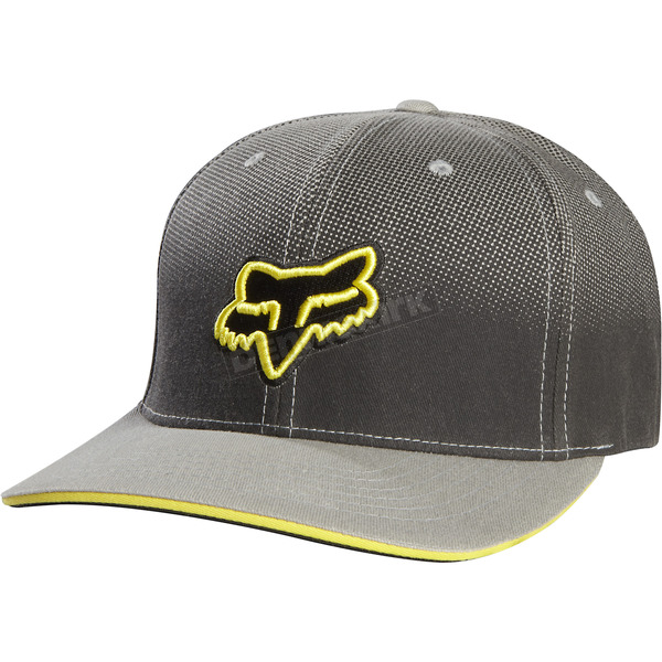 Fox Black Prime Flex-Fit hat - 04202-001
