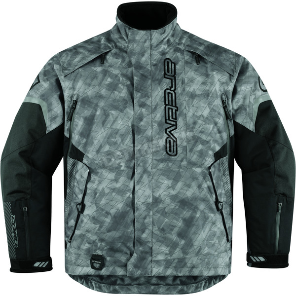 Arctiva Bolt Gray Comp 8 RR Shell Jacket - 3120-1086