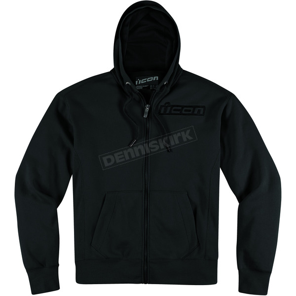 Icon Stealth Upper Slant Zip-Up Hoody - 3050-2182
