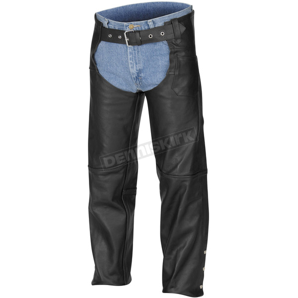 River Road Plains Leather Chaps - 09-4143