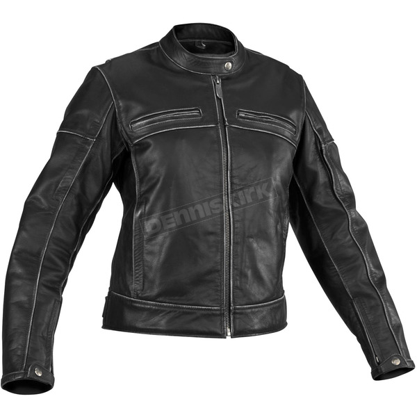 River Road Womens Rambler Vintage Leather Jacket - 09-3918