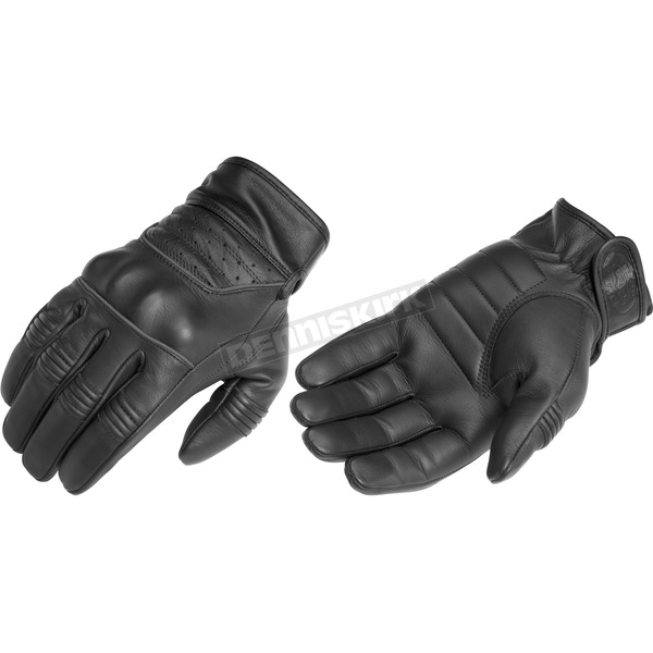 River Road Twin Iron Leather Gloves - 09-3679