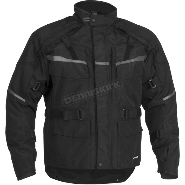 Firstgear Jaunt T2 Black Jacket - 515660