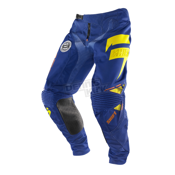 Shift Slate Orange/Blue Faction Pants - 07241-592-28