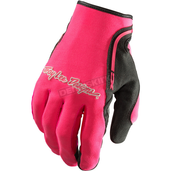 Troy Lee Designs Pink/Black XC Gloves - 428003003
