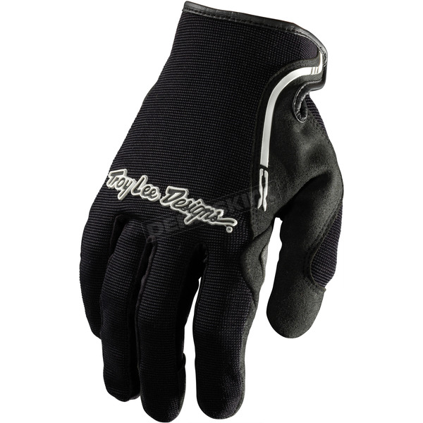 Troy Lee Designs Black/White XC Gloves - 428003206