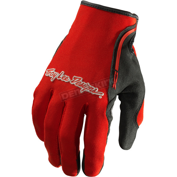 Troy Lee Designs Red/Black XC Gloves - 428003404