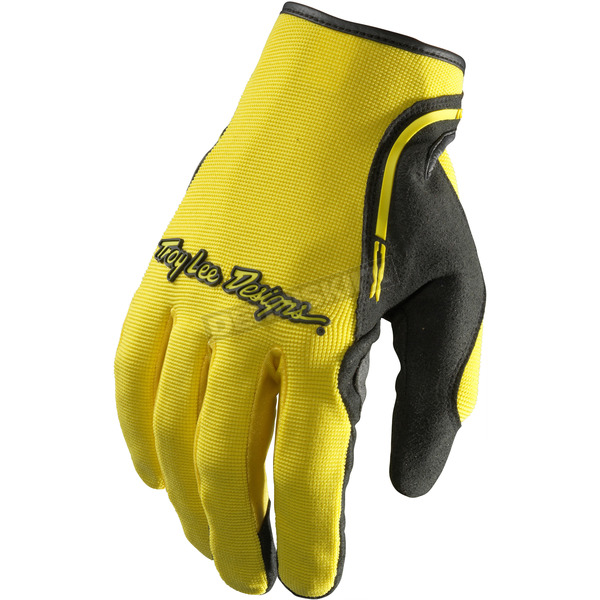 Troy Lee Designs Yellow/Black XC Gloves - 428003505
