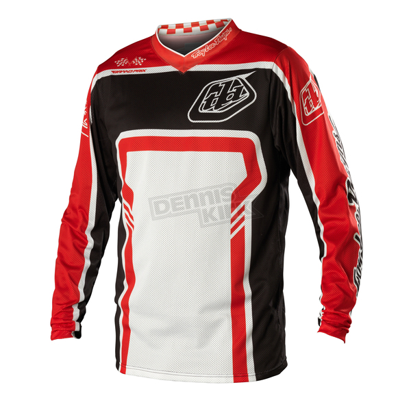 Troy Lee Designs Black/Red Factory GP Air Jersey - 0724-0210