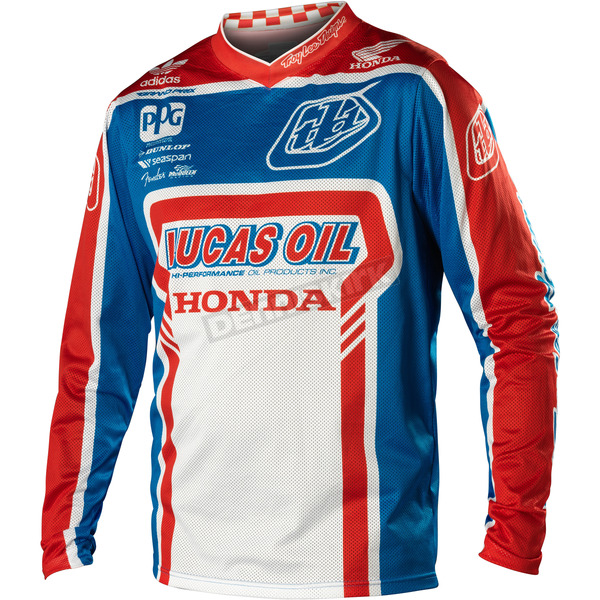 Troy Lee Designs Blue/Red Team GP Air Jersey - 0724-3310