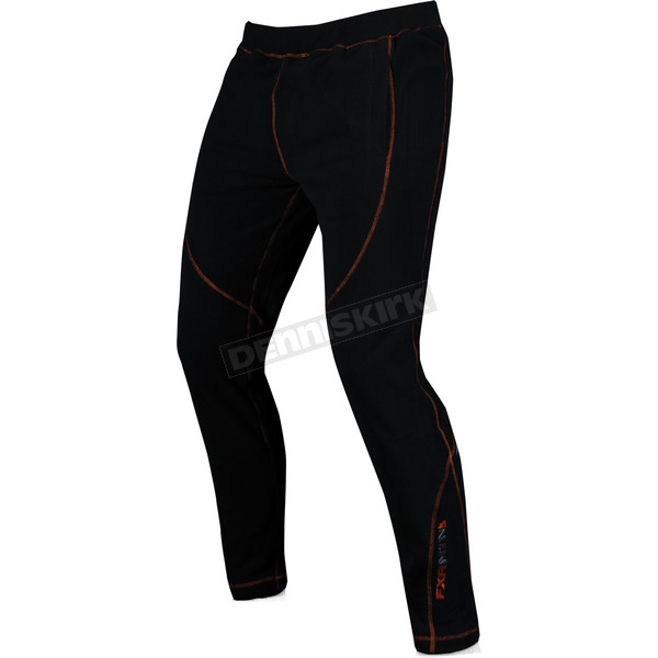 FXR Racing Black Thermal Pants - 14807.10022
