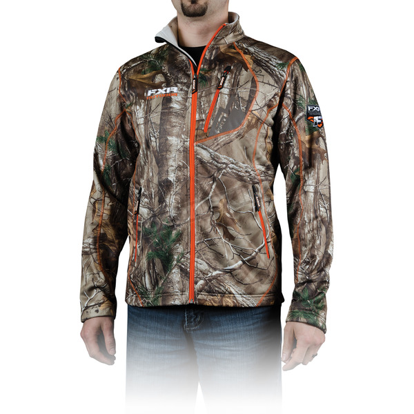 FXR Racing Realtree Xtra Cam Elevation Full Zip Long Sleeve Shirt - 13815.33307