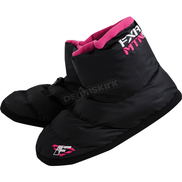 FXR Racing Womens Black Slip-On Boots - 14842.90106