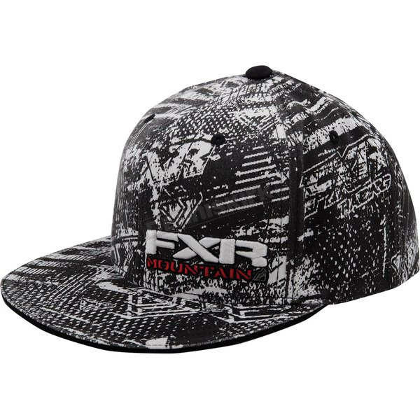 FXR Racing Black/Yellow/White Boondocker Vapour Hat - 14700.02108
