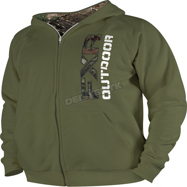 FXR Racing Moss Outdoor Zip Hoody - 14860.30013
