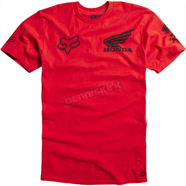 Fox Red Honda T-Shirt - 09465-003-L