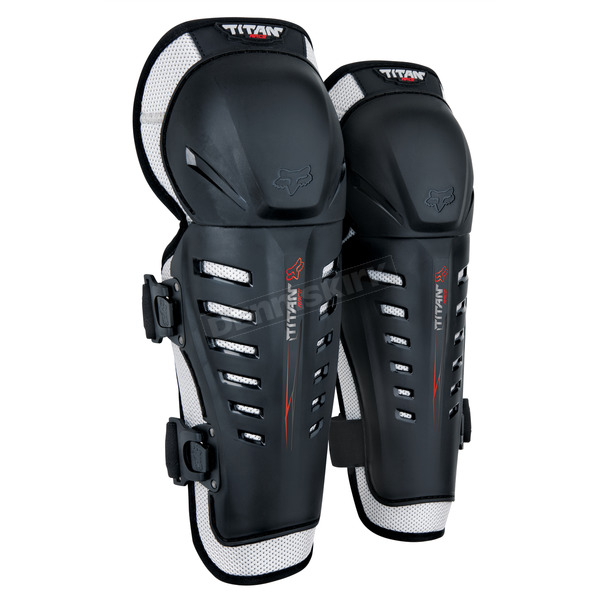 Black Titan Race Knee Guard - 04267-001-OS
