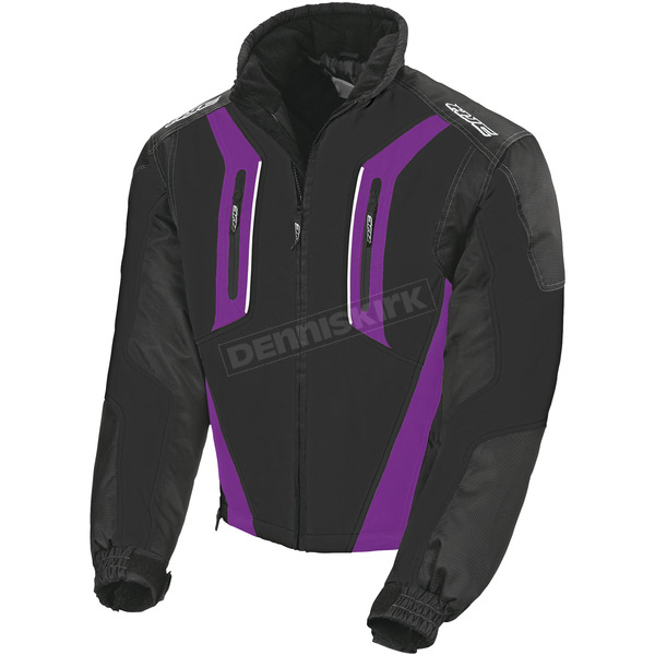 HJC Womens Black/Purple Storm Jacket - 1406-093