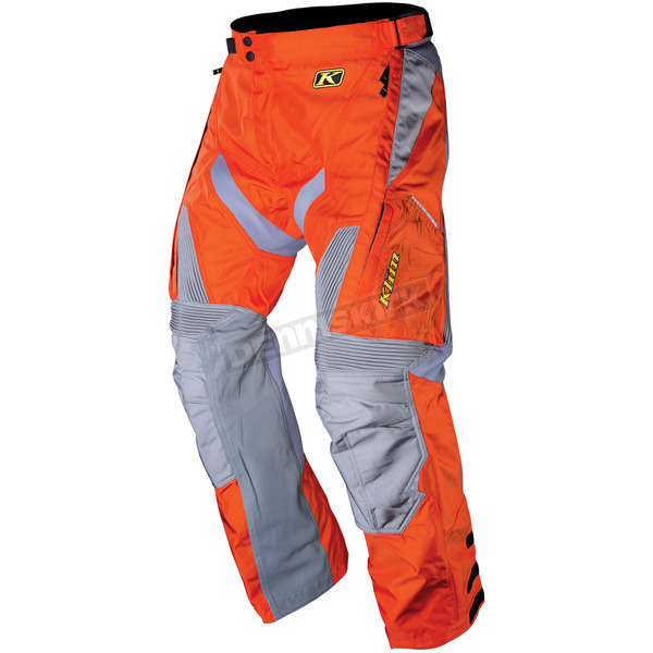 Klim Orange/Grey Dakar Pants - 3142-002-034-400