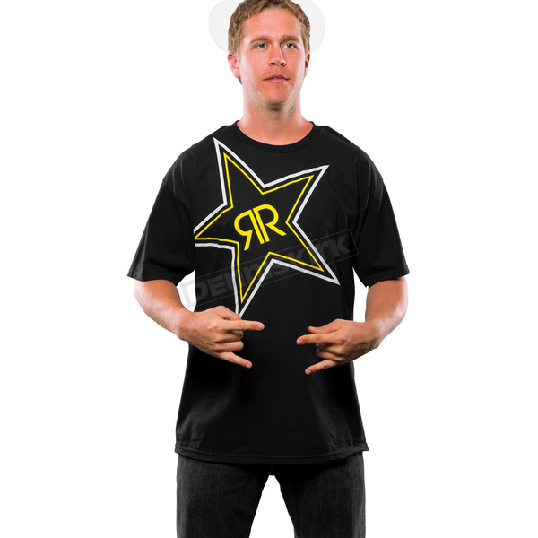 MSR Racing Black X-Ray Rockstar Energy T-Shirt - 050077