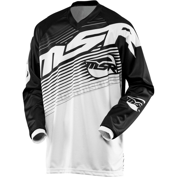 MSR Racing Black/White Axxis Jersey - 351839
