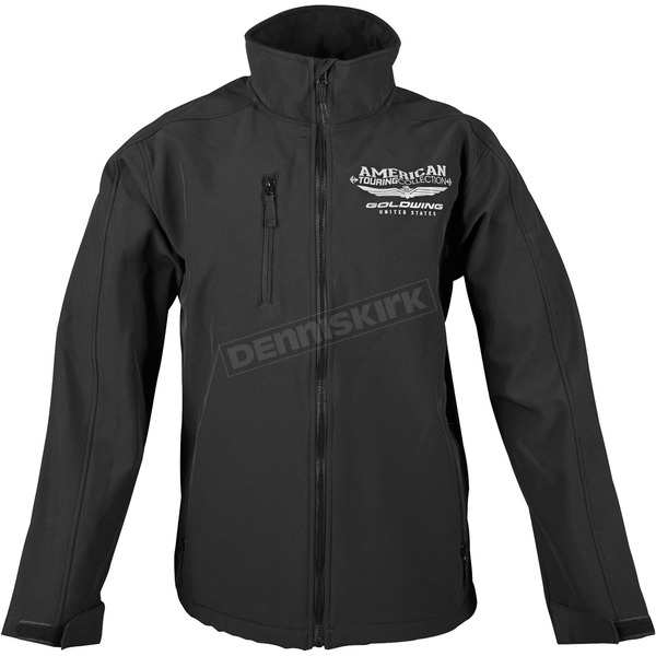 Honda Black Goldwing Touring Soft Shell Jacket - 54-7355