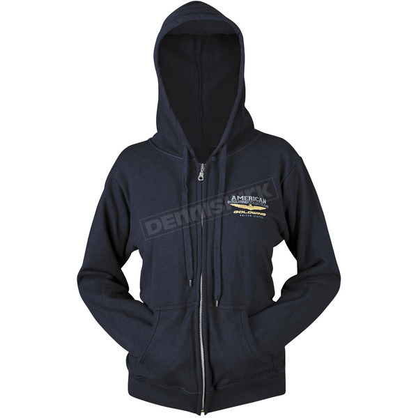 Honda Navy Goldwing Touring Hoody - 54-7378