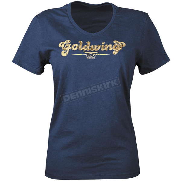 Honda Womens Goldwing Sparkle T-Shirt - 54-7431