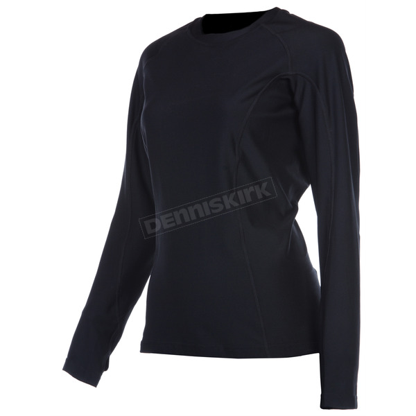 Klim Womens Black Solstice Shirt (Non-Current) - 4020-001-140-000